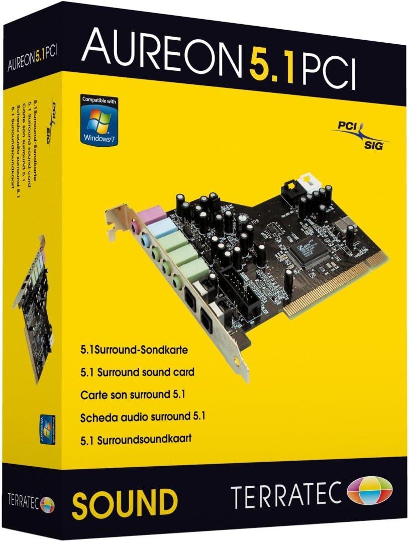 Terratec Aureon 5 1 Pci Internal Surround Sound Card Computers Accessories