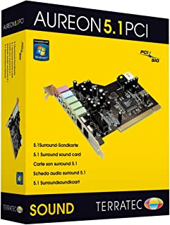 TerraTec Soundsystem Aureon 5.1 - Tarjeta de Sonido para PCI