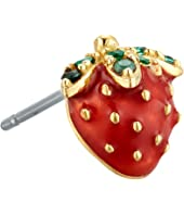 Marc Jacobs - Something Special Strawberry Single Stud Earrings