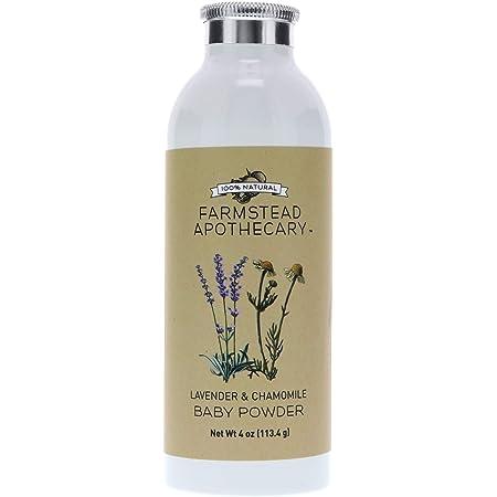 Amazon Com Bee All Natural Organic Baby Powder Talc Free 4 Ounce Bottle Gluten Free Usda Organic Health Personal Care