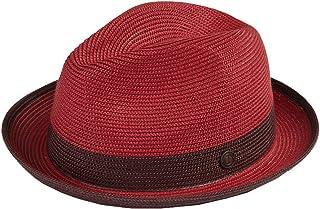 ae1655805eb Dasmarca Mens Summer Crushable   Packable Straw Fedora Hat