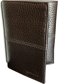 Cole Haan Trifold Men's Wallet Mahogany Brown Leather