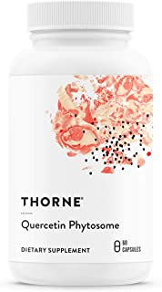 Thorne Research - Quercetin Phytosome - Exclusive Phytosome Complex for Antioxidant and Allergy Support - 60 Capsules