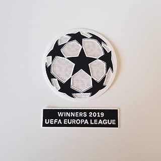 Patch Chelsea UEFA Europa League Final Baku 2019 Respect Badge Match Details Set