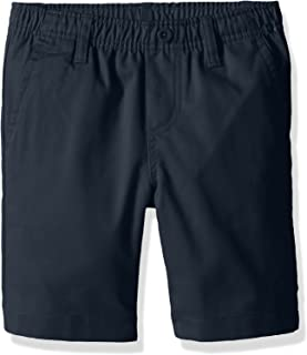 Nautica Boys' School Uniform Flat Front Twill Short