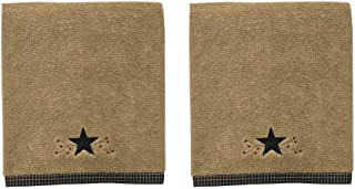 Park Designs Star Vine Bath Towel By Park Designs, Set of 2, 50 Inches Long By 28 Inches Wide