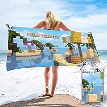 Minecraft Beach Towel boys beach bath pool 28x52 cotton new #62012