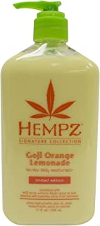 Hempz Goji Orange Lemonade Herbal Body Moisturizer, Signature Collection Limited Edition, 17 fl. oz.
