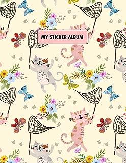 cat sticker album