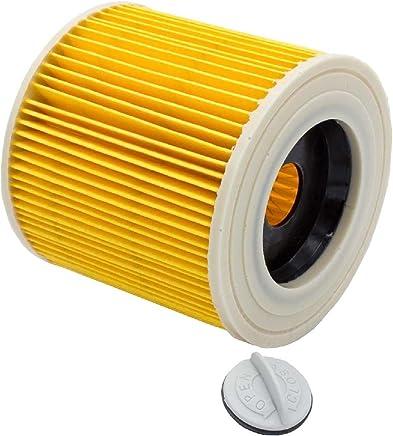 vhbw Patronenfilter Filter für Kärcher WD 2, WD 3, WD 3 Premium, WD 3 P Extension Kit, WD 3.200, WD 3.300 M, WD 3.500 P, ersetzt 6.414-552.0