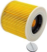 vhbw filtre à cartouches compatible avec Kärcher WD 3.300 M, WD 3.500 P, WD 3.600, WD 3200 AF, WD 3600 aspirateur