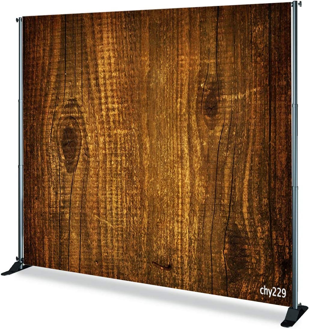 8x6ft,chy228 TCReal Wood Board Background Photography Studio Floor Background Holiday Celebration Birthday Party Background Home Decoration Banner