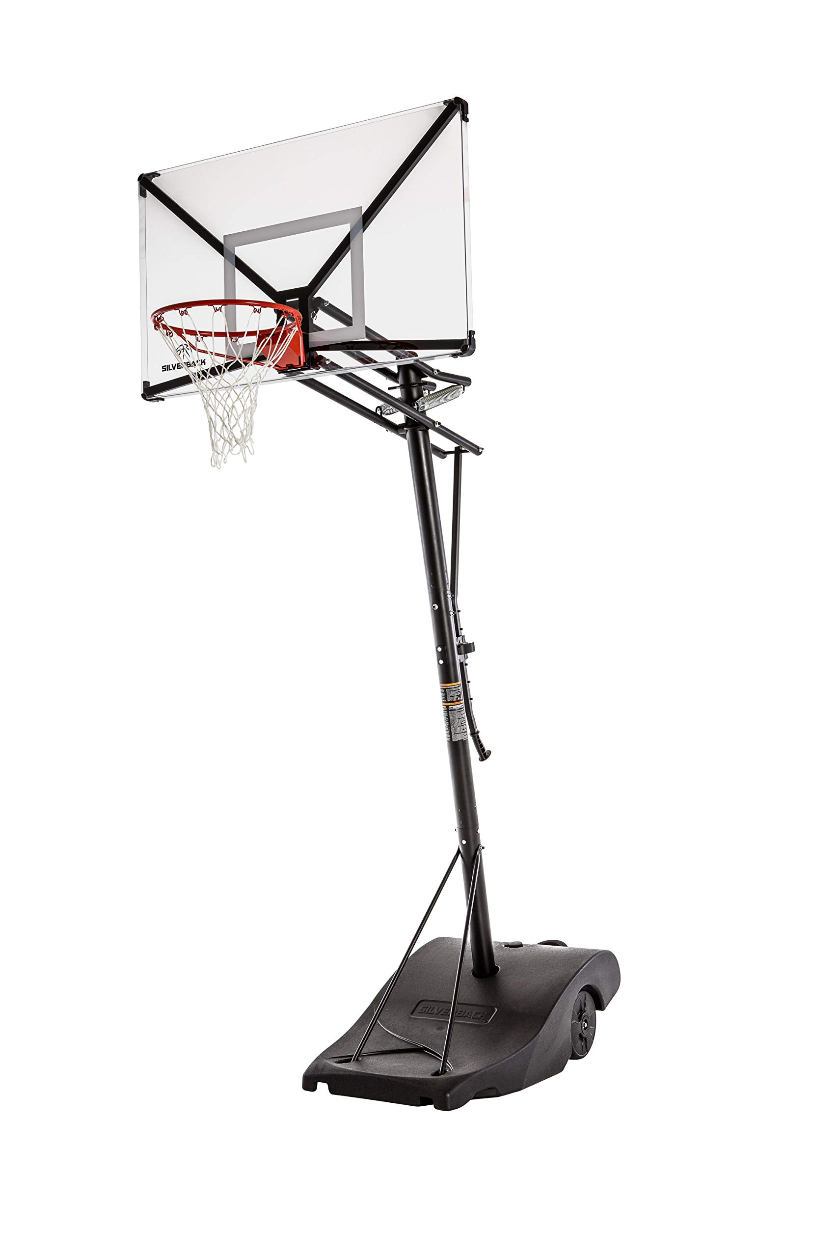 Silverback Backboard Height Adjustable Basketball Assembles