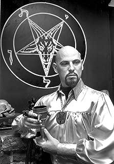 ANTON LAVEY - Poster Satan Satanist Occult Baphomet 24x36inch