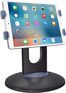 Cellet Tablet Adjustable Rotating Retail Kiosk Pos Desk Mount Dock Compatible for iPad Pro 9.7, 10.5, Air Mini 4 3 2, Kindle, Nexus, Tab, E-Reader Galaxy Tab S3 Microsoft Surface Pro