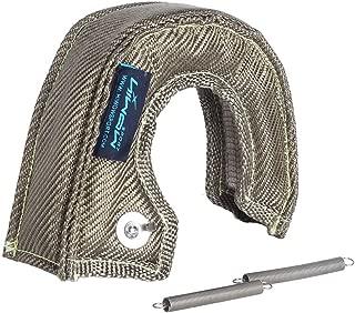 Fireshield Titanium T25 T28 Turbo Blanket Heat Shield Turbocharger Blanket