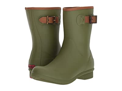 Chooka City Solid Mid Boot (Olive Green) Women