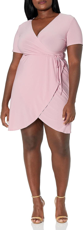 kensie Women's Sleek Stretch Crepe Dress