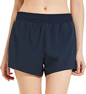CQC Women's Workout Shorts Athletic Sports Active Running Shorts with Mesh Liner