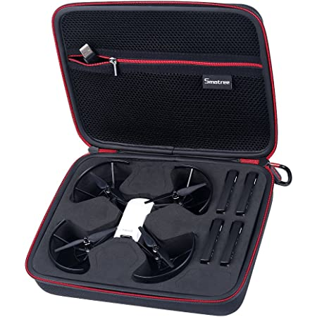 Smatree DJI Tello ケース 収納バッグ キャリングケース バッテリ4個収納可能 携帯に便利