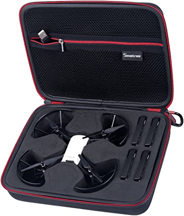 Smatree Carry Case for DJI Tello Drone / 4 Tello Flight Batteries(Tello Drone and 4 Tello Flight Batteries is not Included)