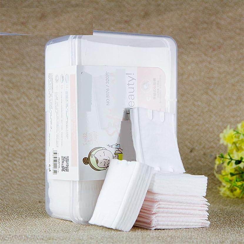 年金受給者連続したしたがってAorunji 柔らかい 天然コットン化粧品パッド高品質リントフリーフェイシャルメイクリムーバークリーニングコットン(Appr.320pcs)