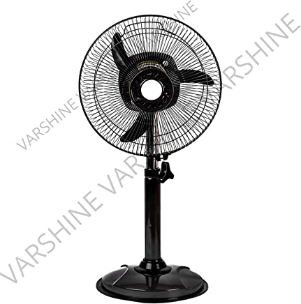 Varshine HAPPY HOME Laurels || Mini Pedestal Fan || ISI Approved Copper Motor || 1 Year Warranty || Sweep- 300 MM, 12 Inches,