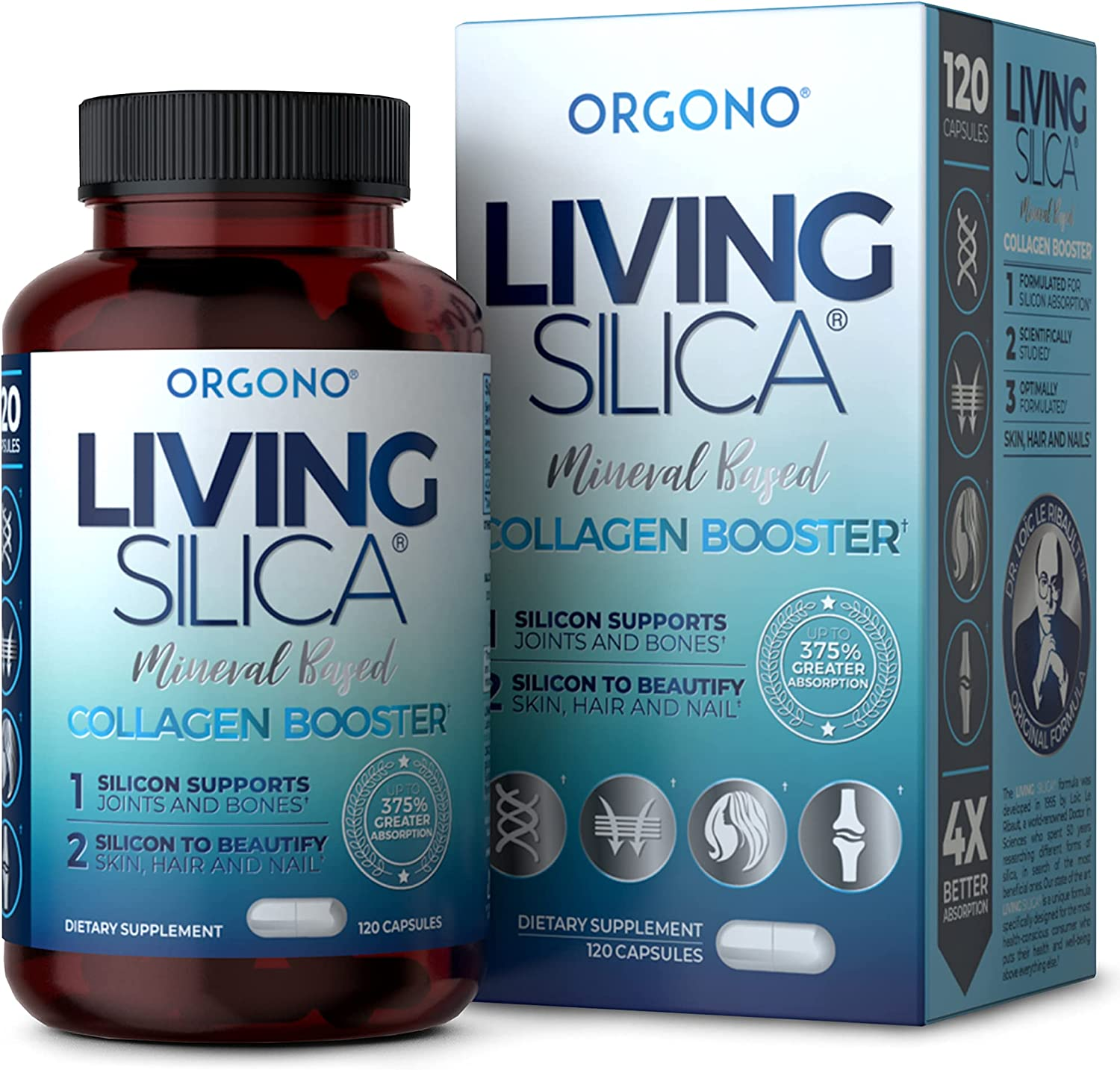 Living Silica Collagen Booster Capsules Max Louisville-Jefferson County Mall 48% OFF High Absorption Ultra