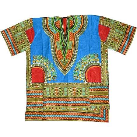 Horus artesanía de Egipto Camisa Africana algodón Wax Unisex ...