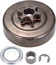 ANCIRS 3/8 6T Clutch Drum Sprocket Washer E-Clip Kit for STIHL Chainsaw MS170 MS180 MS210 MS230 MS250 017 018 021 023 025 1123 640 2003