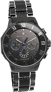[サルバトーレマーラ]腕時計 ウォッチ 電波ソーラー クロノグラフ フルオートカレンダー ビジネス メンズ