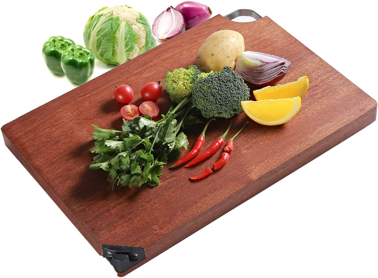 Wood Ranking TOP7 Cutting Board for Kitchen Classic Bo Hard Reversible Chopping