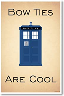 Doctor Who - Tardis - Bow Ties Are Cool - New Funny Poster