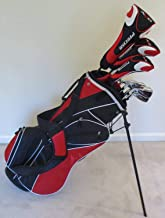 NEW Mens Left Handed Complete Golf Set Custom Made Clubs for Tall Men 6'0