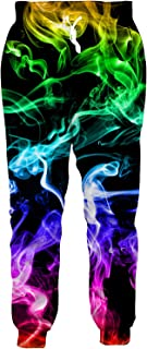 Men/Women Sweatpants Funny Joggers Pants Sports Trousers with Drawstring