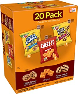Keebler,Cookies and Crackers, Variety Pack,  21.2 oz (20 Count)