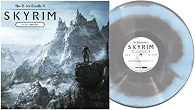 The Elder Scrolls V: Skyrim - Atmospheres (Exclusive Limited Edition Dragontail Mountains Grey And Blue Vinyl LP)