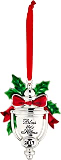 Lenox 870941 Annual Silver 2017 Bless this Home Ornament