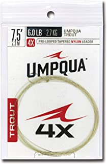 Umpqua Fly Fishing Trout Tapered 7.5' Leader - Fly Fishing
