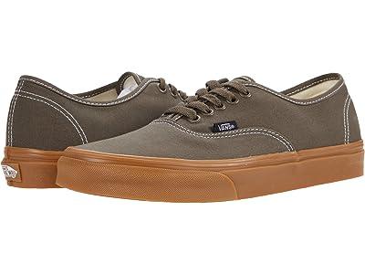 Vans Authentic ((Gum) Canteen) Skate Shoes