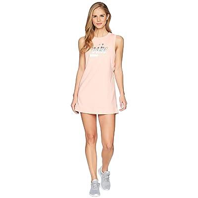 Nike Sportswear Metallic Dress (Bleached Coral) Women