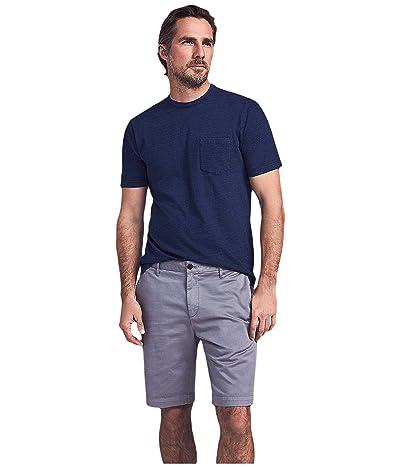 Faherty Stretch Chino Shorts (Steel) Men