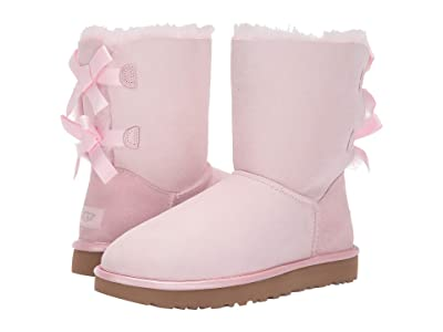 UGG Bailey Bow II Metallic (Seashell Pink) Women