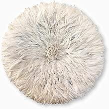 Ethnic Origin Company African Juju Hat White Feather 30