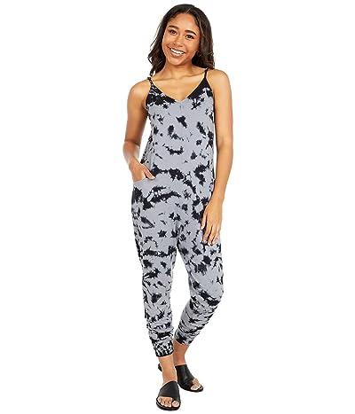 bobi Los Angeles La Tie-Dye Jumpsuit (Grey/Black) Women
