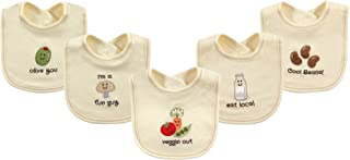 Touched by Nature unisex-baby Organic Cotton Bibs Bib