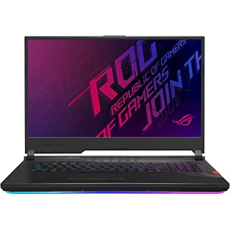 """CUK ROG Strix Scar 17 G732LWS by ASUS 17 Inch Gaming Notebook (Intel Core i7, 16GB RAM, 1TB NVMe SSD, NVIDIA GeForce RTX 2070 Super 8GB, 17.3"""" FHD 300Hz IPS, Windows 10 Home) Gamer Laptop Computer"""