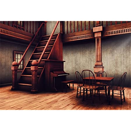 CSFOTO 5x7ft Background for Medieval Chamber with a Stand for Armor Photography Backdrop Ancient House Retro Nostalgic Wooden Architecture War Table Tavern Photo Studio Props Polyester Wallpaper
