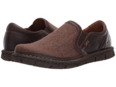 Born Sawyer (Dark Tan/Dark Brown (Cactus/Dark Brown) Fabric Combo) Men