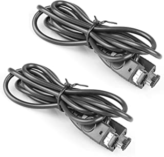 StyleZ 2 Pcs Link Cable for Nintendo Advance GBA SP 2 Game Player Lingking Connector Cable Cord
